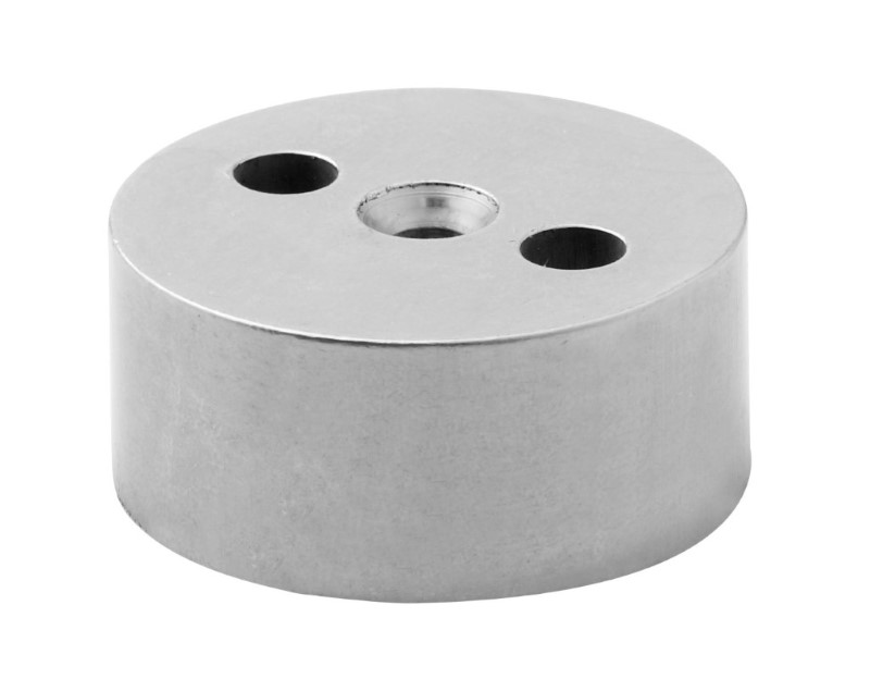 General Hardware A292 Half Moon Door Stop Packer Tp