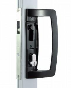 Screen Door Sliding 8653 Dummy Handle Set Black
